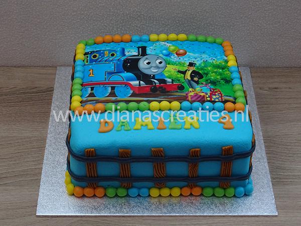 New Thomas de trein taart | Diana's Creaties #EF88